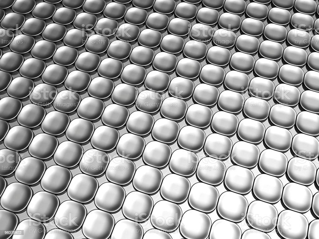 Aluminum luxury contemporary pattern background royalty-free stock photo