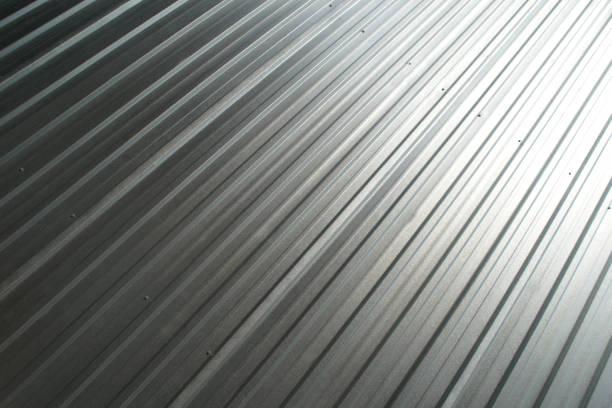 aluminiumplatte - alu zaun stock-fotos und bilder