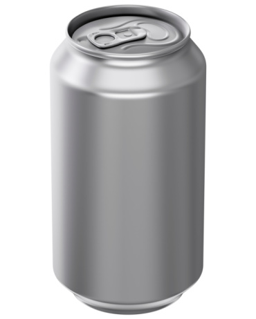 Aluminum Pop Top Can Without A Over Stock Photo - Download Image Now