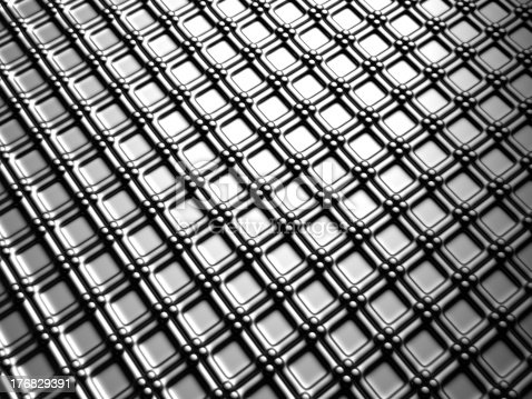96897092istockphoto Aluminum silver square pattern background 176829391