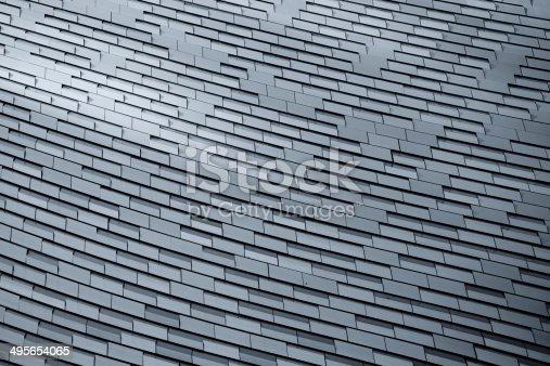 istock Aluminum Texture 495654065
