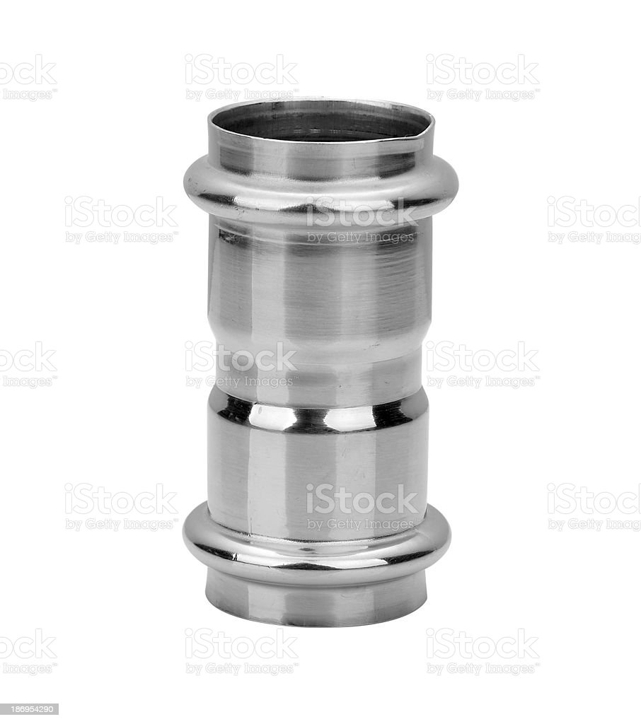 Aluminum tube royalty-free stock photo