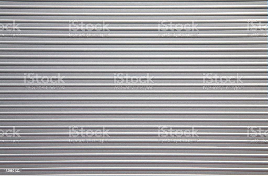 Aluminum Wall royalty-free stock photo