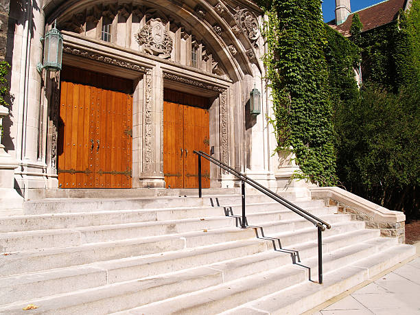 Alumni Memorial Building, Lehigh University stock photo