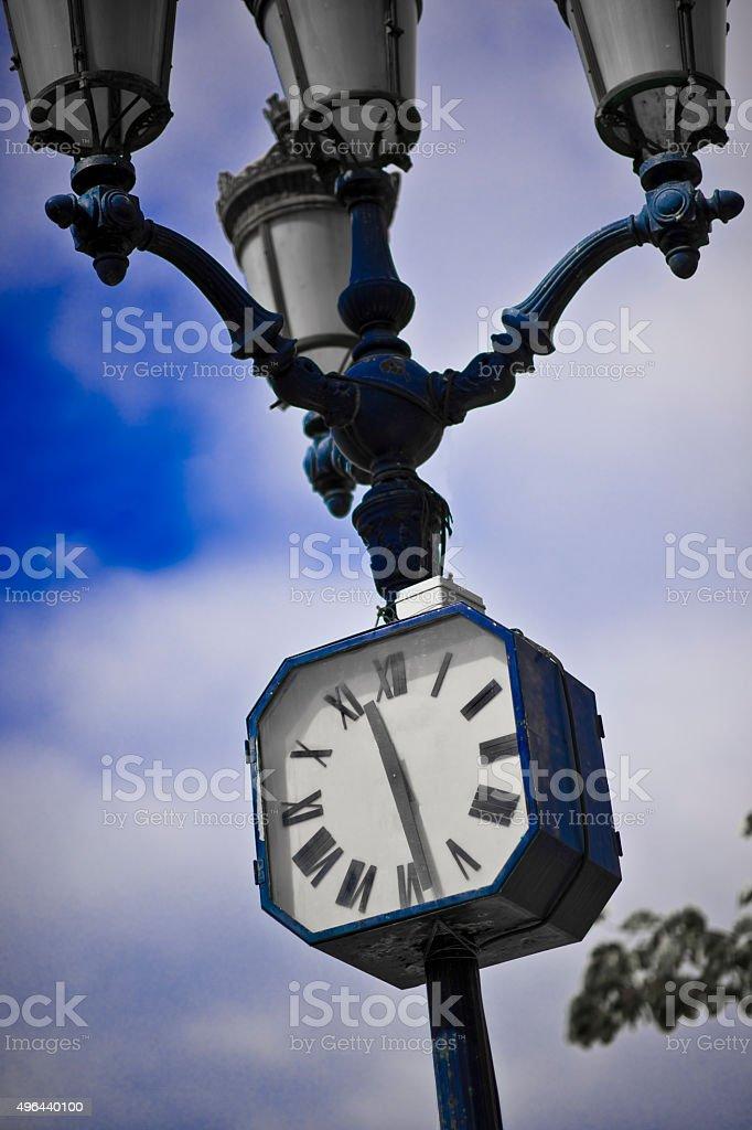 Always 11h.30 stock photo