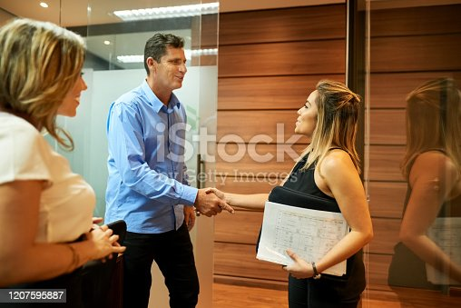 541976840 istock photo Always a pleasure doing business with you! 1207595887