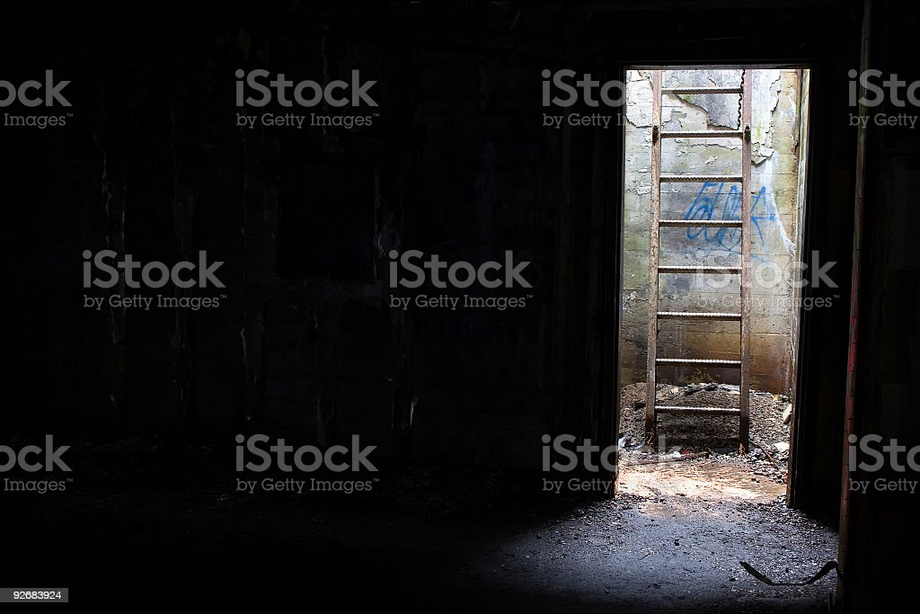 Always a way out. royalty-free stock photo