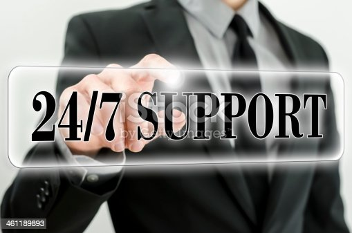 istock Always awailable support 461189893