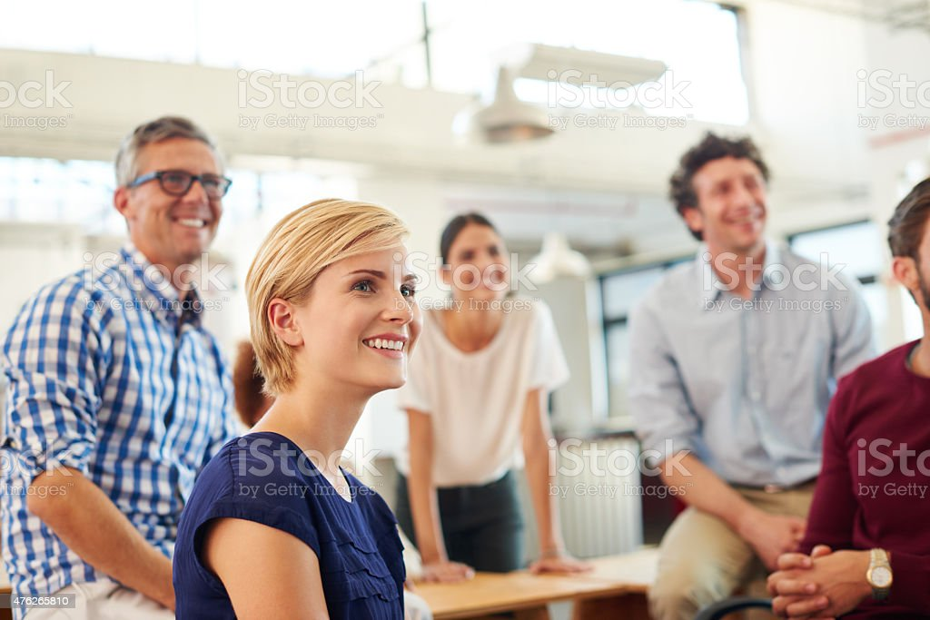 Always be positive stock photo
