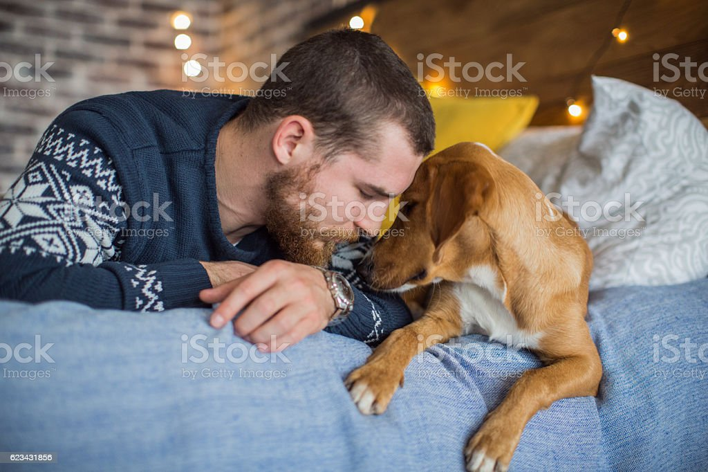 Always by my side! stock photo