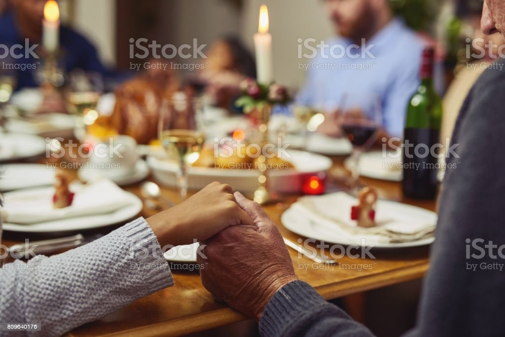 Always express gratitude for your blessings stock photo