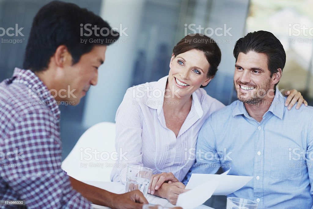 I always get my clients whatever they want royalty-free stock photo