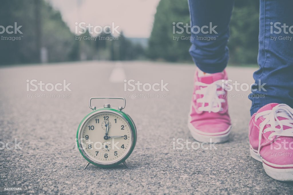 Always on time? stock photo