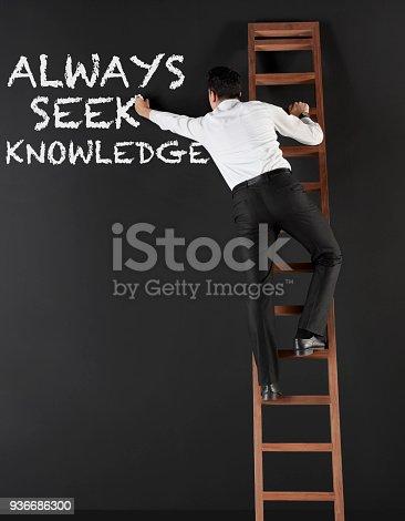 istock Always seek knowledge 936686300
