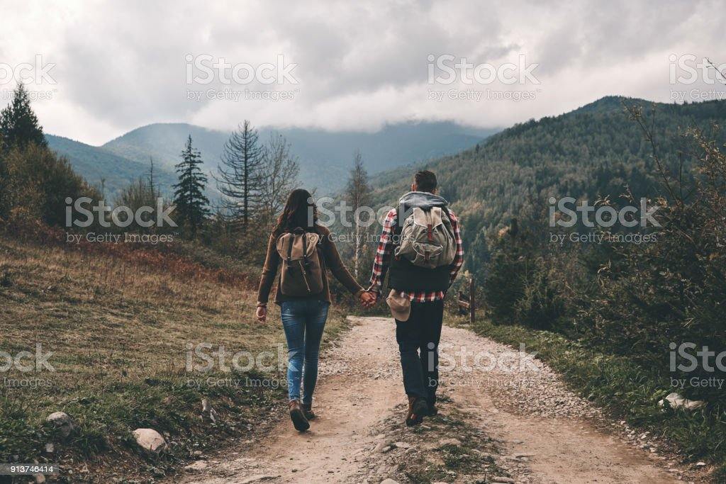 Always side by side. stock photo