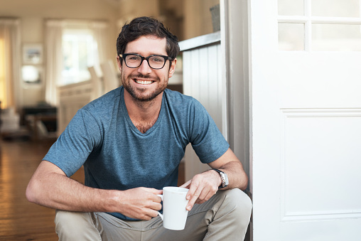 istock I always start my day with a fresh cup of coffee 869773424