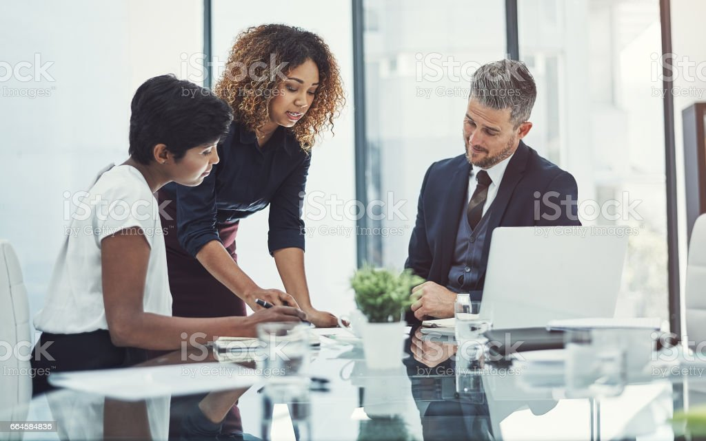 Always striving to drive the business forward royalty-free stock photo