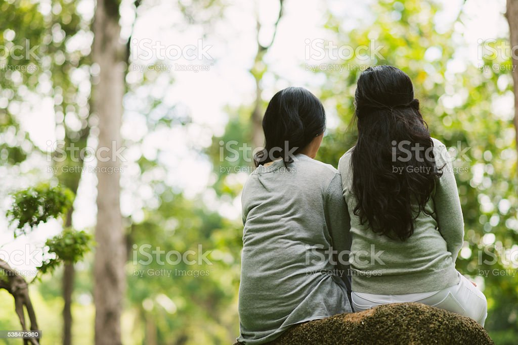 Always together stock photo