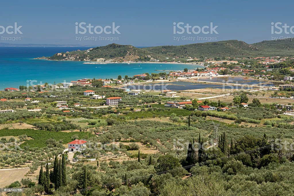 Alykes, Zakynthos Island, Greece stock photo