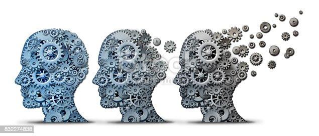 istock Alzheimer Dementia Brain Disease 832274838
