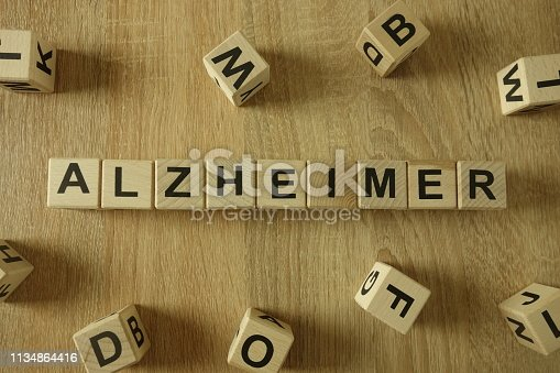 istock Alzheimer word from wooden blocks 1134864416