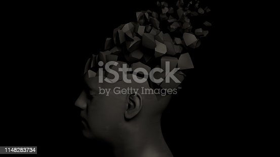 istock Alzheimer's disease or memory loss 1148283734