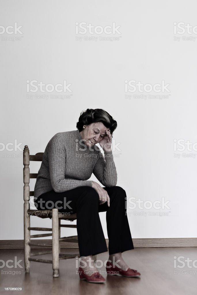 Alzheimer's Disease royalty-free stock photo