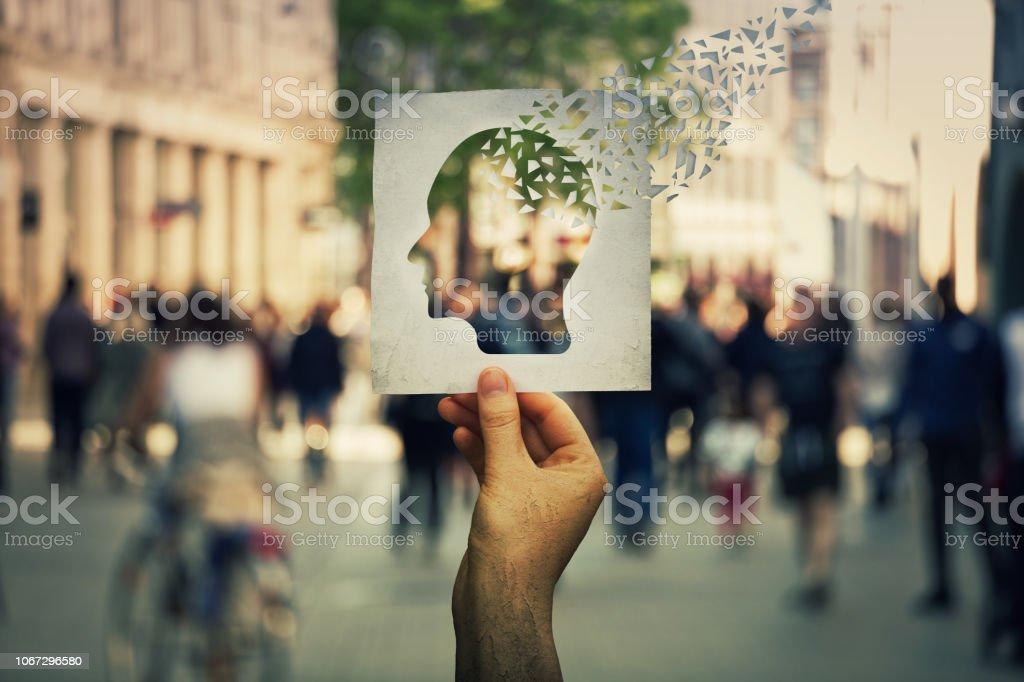 Alzheimer Krankheit verlieren Gehirn – Foto