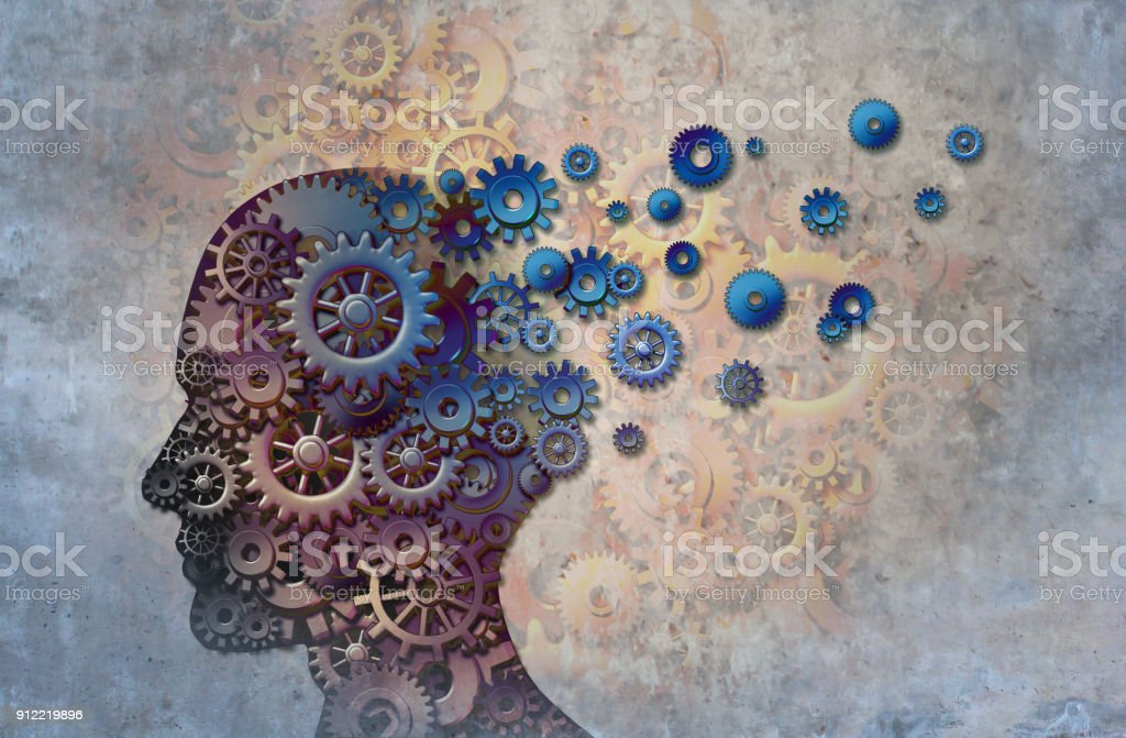 Alzheimer's - Royalty-free Abstract Stock Photo
