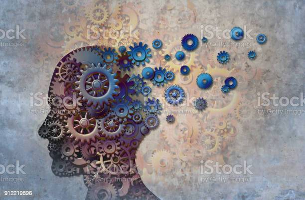 Ziekte Van Alzheimer Stockfoto en meer beelden van Abstract