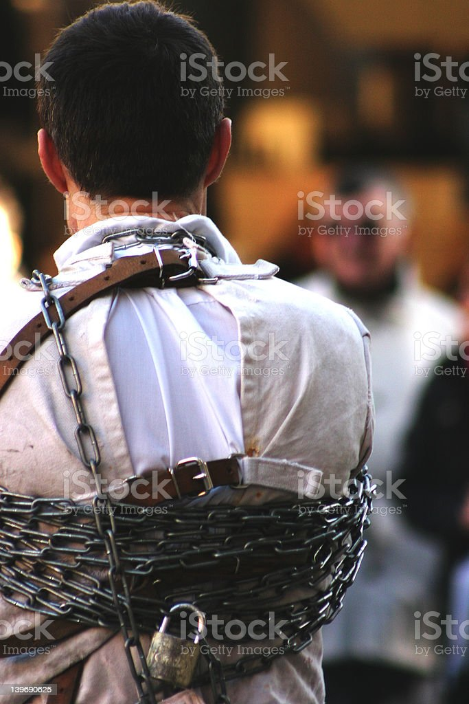 I am a bit tied up right now royalty-free stock photo