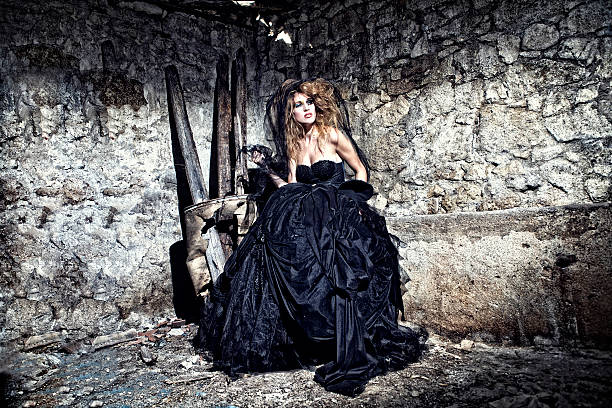 ich bin schwarz - coole halloween kostüme stock-fotos und bilder