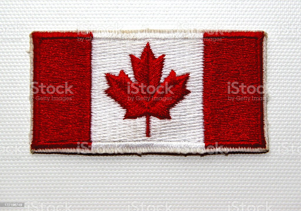 I am Canadian -01 stock photo