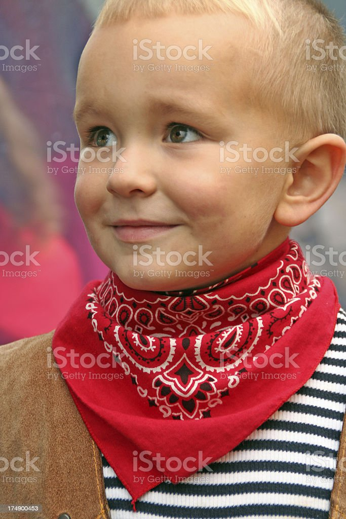 I am  cowboy stock photo