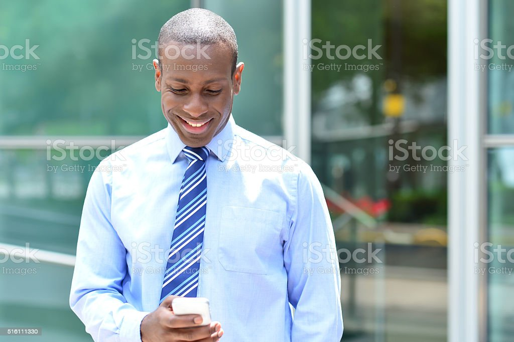 I am getting a call ! stock photo