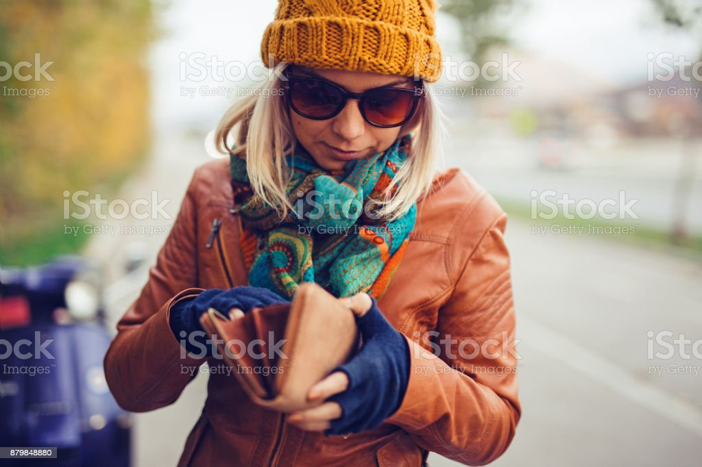 Am I have enough? stock photo