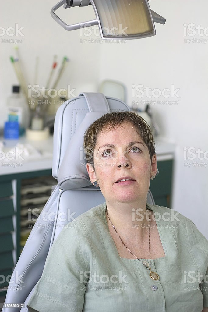 Am I ready for the dentist? royalty-free stock photo