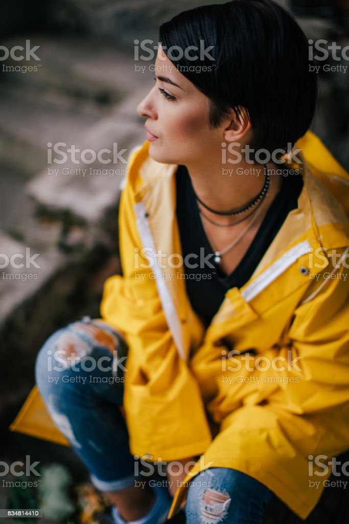 I Am Protected Of Catching Cold Stock Photo - Download Image Now