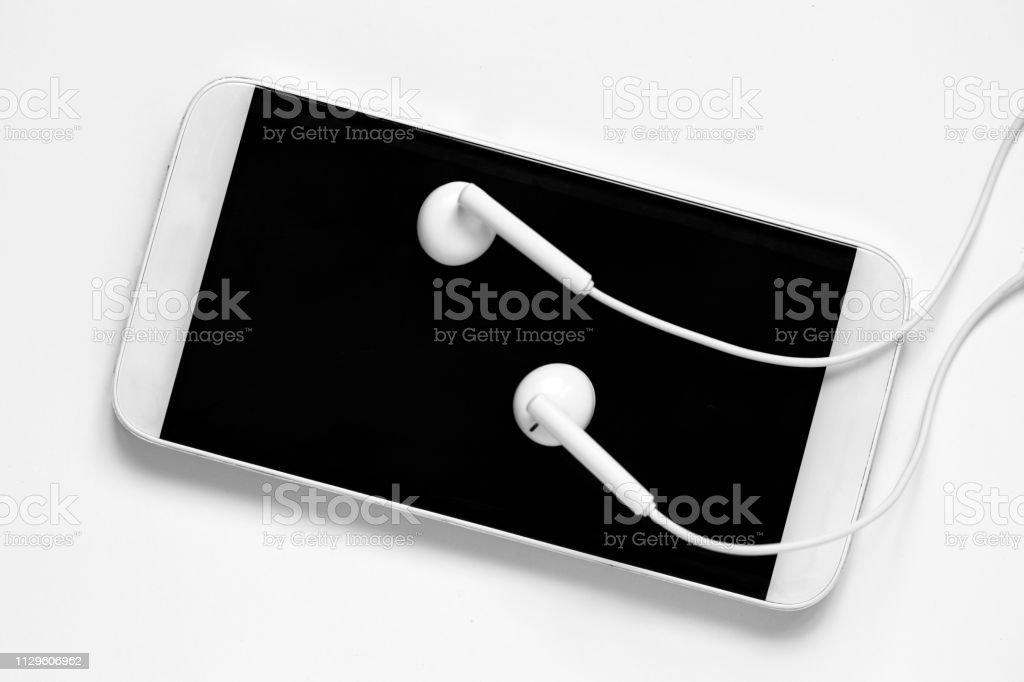 I am ready to listen new hits stock photo