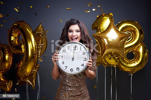 istock I am ready to welcome new year 897969252