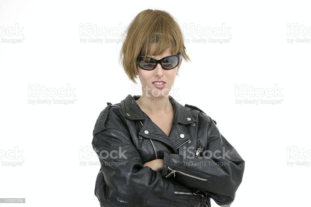 I am real girl! stock photo