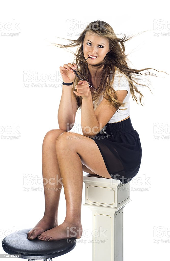 I am relaxed royalty-free stock photo