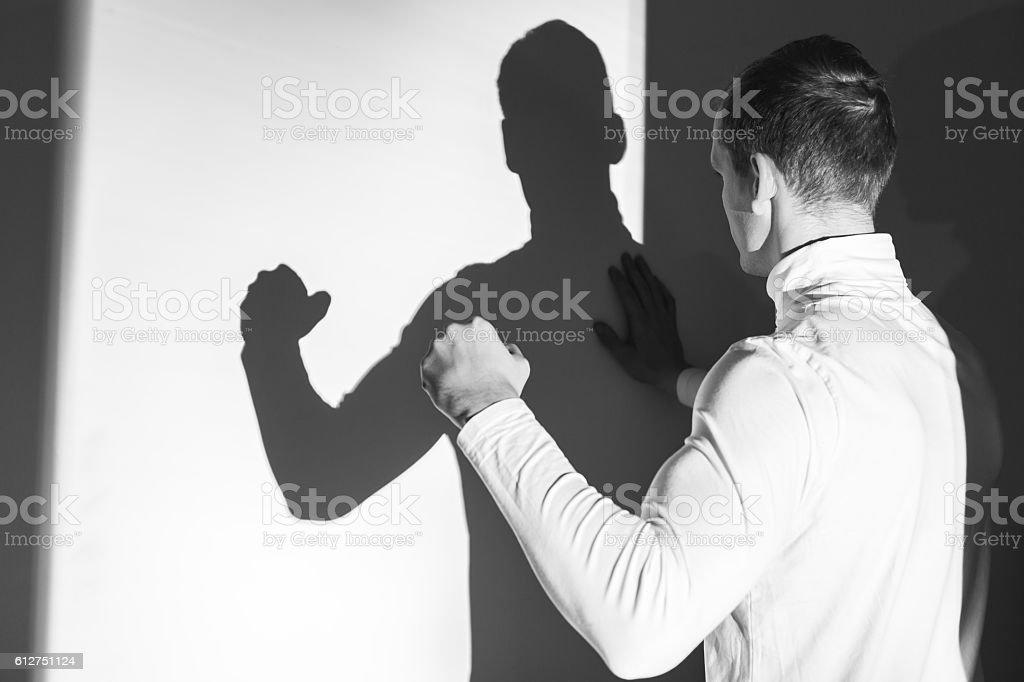 I am so powerful! stock photo