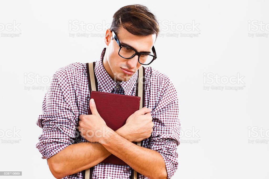I am so tired and so sad! stock photo