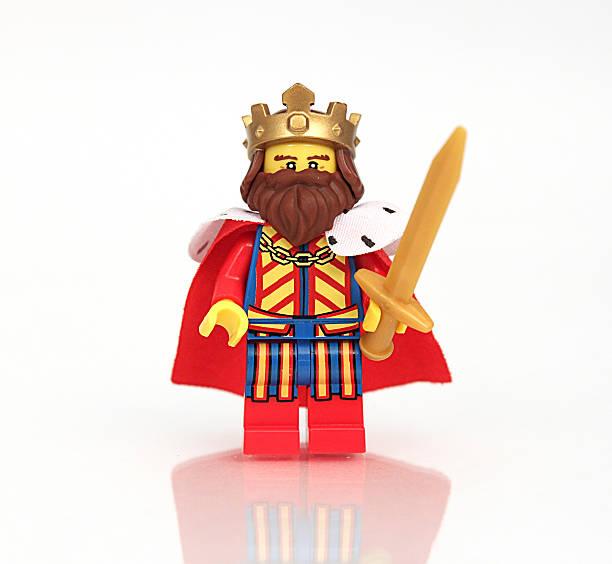 I am the King stock photo