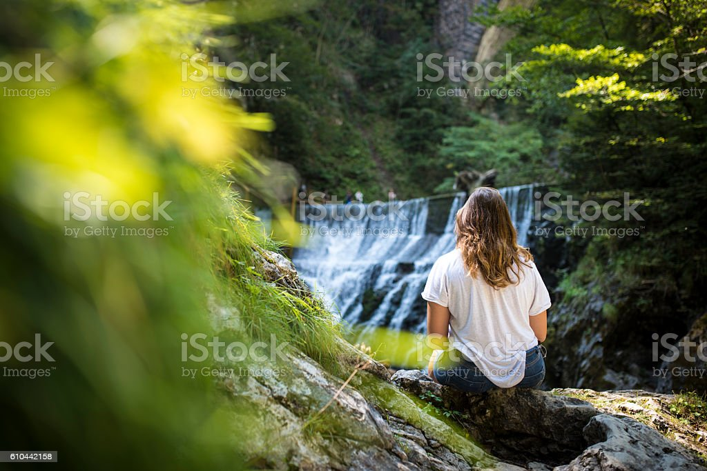 I Am Wanderlust stock photo