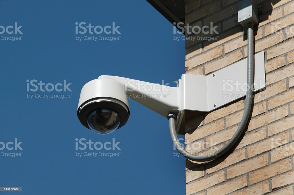 I am watching you royalty-free stock photo