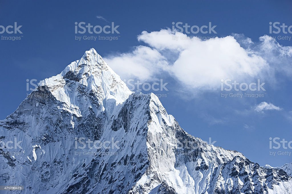 Ama Dablam - Himalaya Range royalty-free stock photo