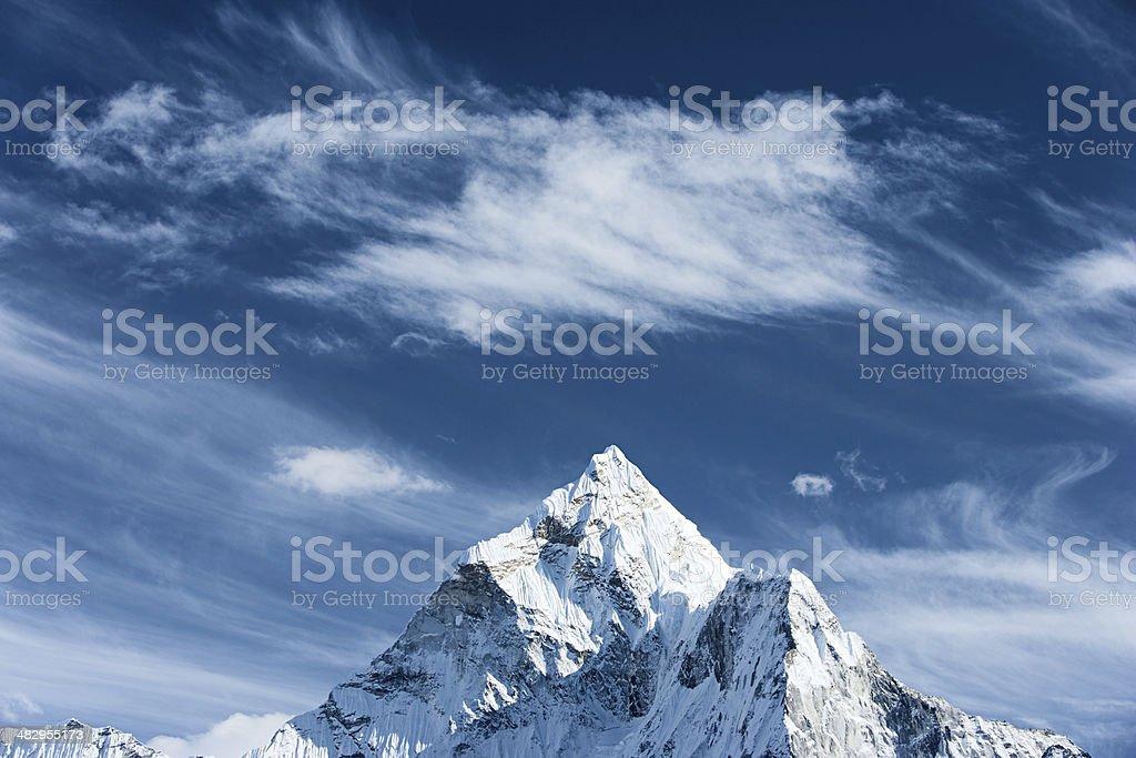 Ama Dablam - Himalaya Range royalty-free stock photo