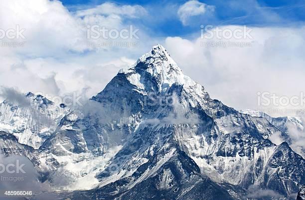 Photo of Ama Dablam Mount in the Nepal Himalaya